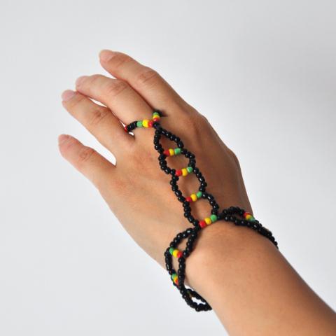 Hand Bracelet [rasta]