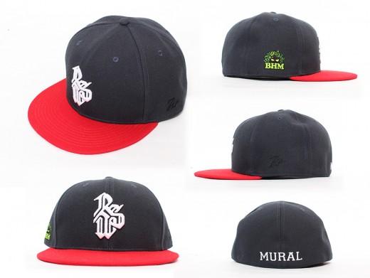MURAL×RSW CAP NAVY