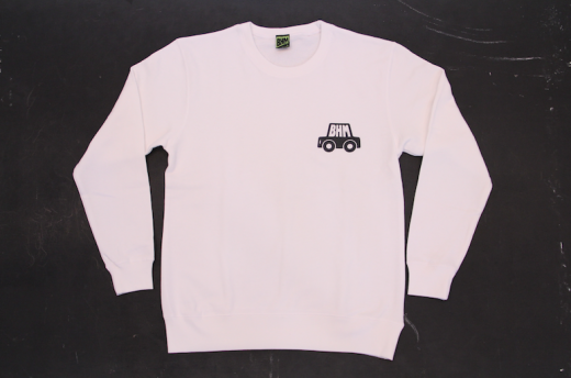 CAR SWEAT_WHT