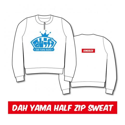 DAH-YAMA_HALF-ZIP-SWEAT