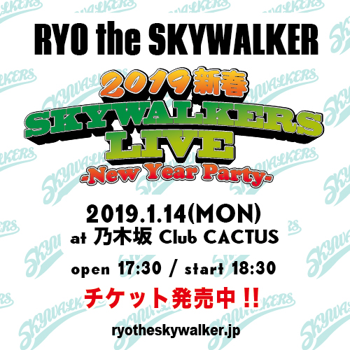 SKYWALKERS_2019-NEW-YEAR-LIVE_FLYER_nowon_cactus
