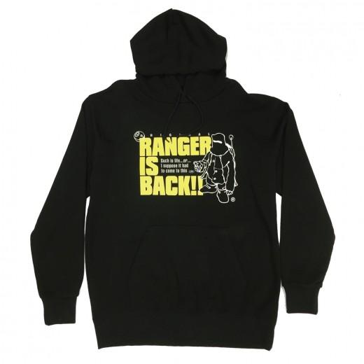 RANGER-パーカー-BLACK