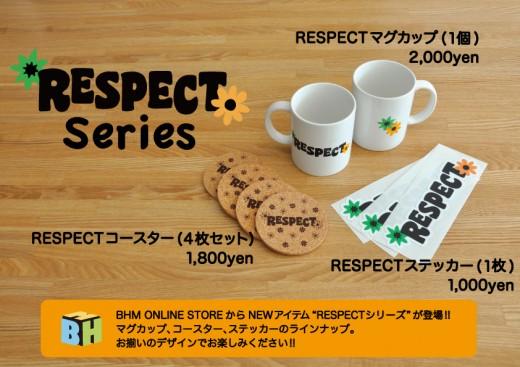 RESPECTシリーズチラシ